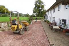 External renovations, Paviours before